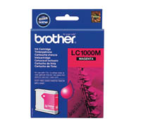 BROTHER LC1000M VÄRIPATRUUNA MAGENTA