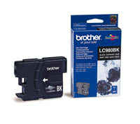 BROTHER LC980BK VÄRIPATRUUNA BLACK