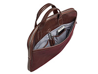 PIERRE SLIM LAPTOP BRIEFCASE MURANO RUSK