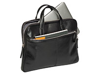 PIERRE SLIM LAPTOP BRIEFCASE MURANO MUST