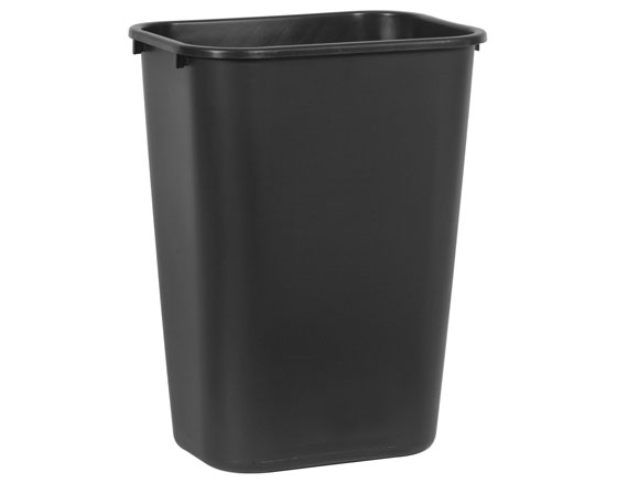 RUBBERMAID PAPERIKORI 39 L MUSTA