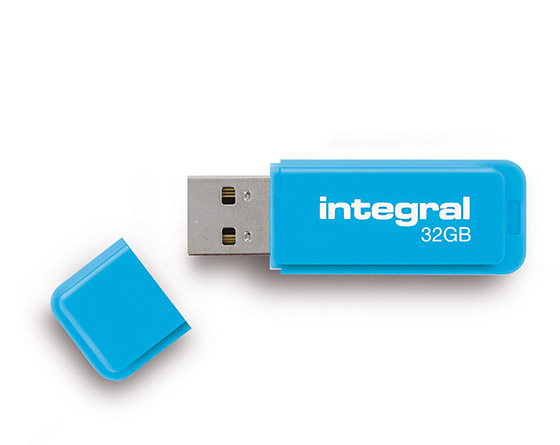INTEGRAL NEON BLUE USB 32GB