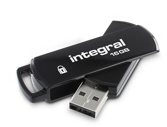 INTEGRAL SECURE 360 ENCRYPTED USB 16GB